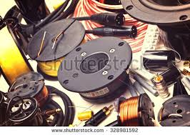 speaker wire stock images, royalty free images & vectors Speaker Wire Parts closeup of electric speakers parts mx-fs8000 speaker wire replacement parts