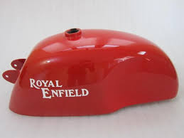 new royal enfield cafe racer bright red