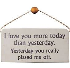 Funny I Love You Quotes Amazing Love You More Today Than Yesterday Quote