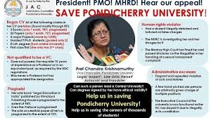 University Vice · Remove Mhrd President And Petition Pondicherry 4qnUpx7Ypw