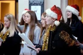 Protests and carols at Victorian Market in Inverness