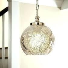 mercury pendant light s mercury glass pendant light pottery barn