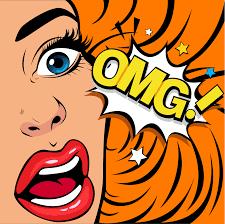 OMG la femme en état de choc 274673 - Telecharger Vectoriel ...