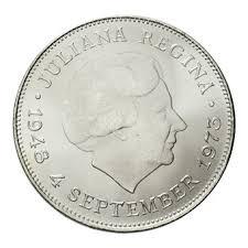10 gulden munt 1973 zilver