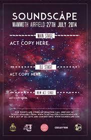 Concert Poster Design The Design Elements Of Concert Posters Nextdayflyers