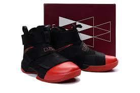 lebron shoes soldier 10 black. men nike lebron soldier 10 black red basketball shoes | clearance prices,excellent quality l