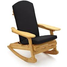 wooden rocking chair with cushion. Simple Rocking And Wooden Rocking Chair With Cushion C