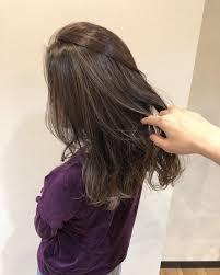 大人女性の上品なハイライトは冬でもキレイ 稲毛 美容室 稲毛の