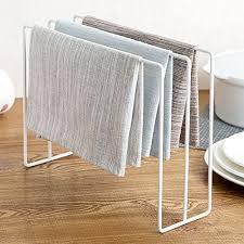 towel hanger. VANCORE Kitchen Towel Hanger Shelf Dishcloth Drying Rack Stand - B073F69GR8 D
