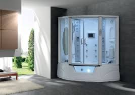 Enjoy Steam Shower and the Bathtub Using Steam Shower Tub Combos