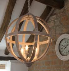 orb chandelier wood home design in wooden lighting decor 29