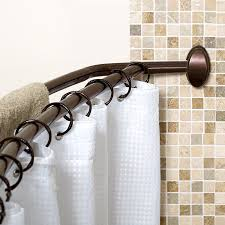 curved shower curtain rod also curved wall curtain rod also 43 inch curved shower rod also