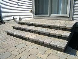 how to build paver steps patio steps ideas popular ideas stone patio steps how to build