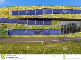 Modern High School Design Architecture Detail Of Modern Design High School Stock Image