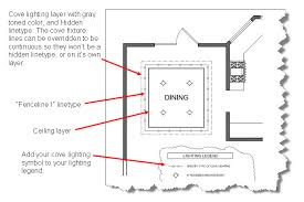 cove ceiling lighting. delighful ceiling how to autocad cove lighting inside ceiling