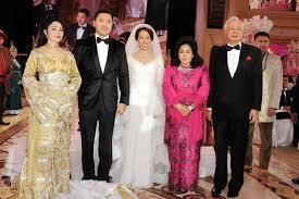 Image result for perkahwinan anak najib