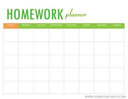 Homework Calendar Templates Magnificent Printable Homework Agenda Engneeuforicco