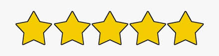 Five Stars Clipart - 5 Star Review Transparent PNG Image | Transparent PNG Free Download on SeekPNG