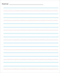 Elementary Ruled Paper 13 Lined Paper Templates In Pdf Free Premium Templates