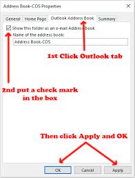 Adding Groups To Outlook Address Book – Steve's Tech Blog