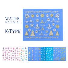 冬 クリスマスなどシールウォーターシール 16種 Mint For Handmade