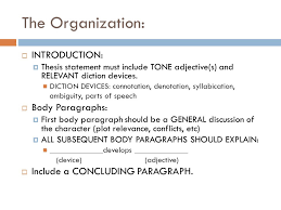 hamlet character essay an analysis of tone and diction ppt  3 the