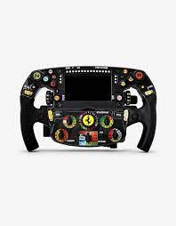 This thrustmaster steering wheel is a full sized replica of the ferrari racing wheel from the 2011 season. Ferrari Sf1000 Model Steering Wheel In 1 1 Unisex Scuderia Ferrari Official Store