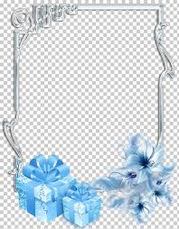 Christmas Photo Frames Templates Free Christmas Frames Gift Silver Frame Gray And Blue Floral