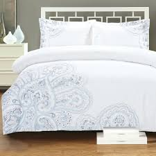 duvet cover embroidered full size of bedding beautiful queen white cotton material lovely damask bamboo set