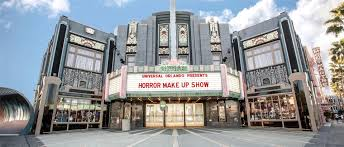 the front marquee outside of universal orlando s horror make up show
