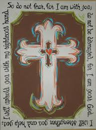 cross painting with verse by athomewithkelsey on 75 00