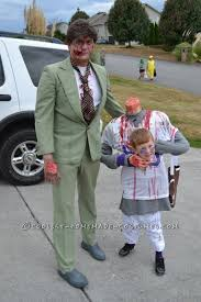 ryan and his daddy ready to trick or treat
