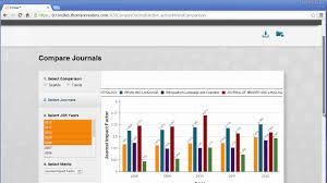 Journal Citation Reports On Incites Saving Exporting Data Esp
