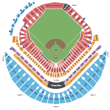 Tropicana Field Seating Chart View Tampa Bay Rays Packages