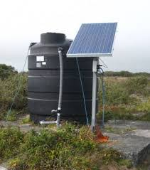 solar powered water pumping micro hydro backwoods solar image of solar water pumping storage tank