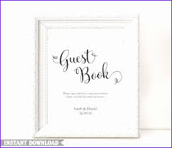 guest book template free guest book template free printable wedding guest sign in pages
