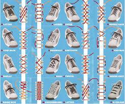 Shoelace Patterns Inspiration Shoelace Patterns Infographic Infographics Pinterest Shoelace