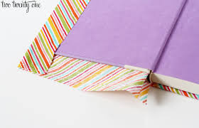 diy fabric covered book