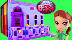 Perfect Littlest Pet Shop Style Set Blythe Bedroom LPS Toy Unboxing And Building