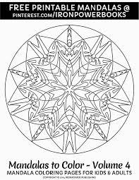 Arts Advanced Mandala Coloring Pages Pretty Easy Mandala Coloring