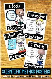 Scientific Method Posters Science Experiment Recording Sheets
