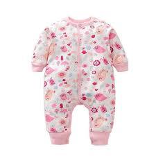<b>Newborn Baby</b> Romper <b>Spring Autumn Baby</b> Boy Girl Clothing ...