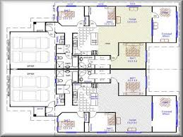 miscellaneous duplex floor plans design interior decoration small house with garage