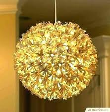 rice paper lamp shades diy ceiling light lamps new pendant shade custom recycled globe large white