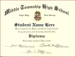 School Graduation Certificate Sample Under Fontanacountryinn Com