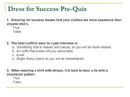 dressing for success essay title trabajo todos los esseys