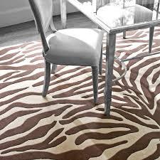 appealing zebra print area rug dash and albert rugs tufted animal print area rug reviews wayfair