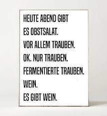 Gin 2 Kunstdruck Poster Bild Küche Spruch Motivation Typografie Gin