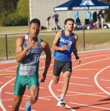 barton track teams set school marks the wilson times barton college junior aaron jones right competes in the trojan challenge on friday in