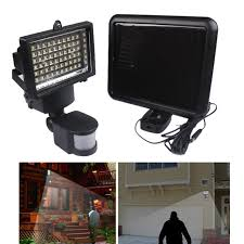 security light with pir solar powered motion sensor light with regard to 60 led outdoor activated detector inspirations 7